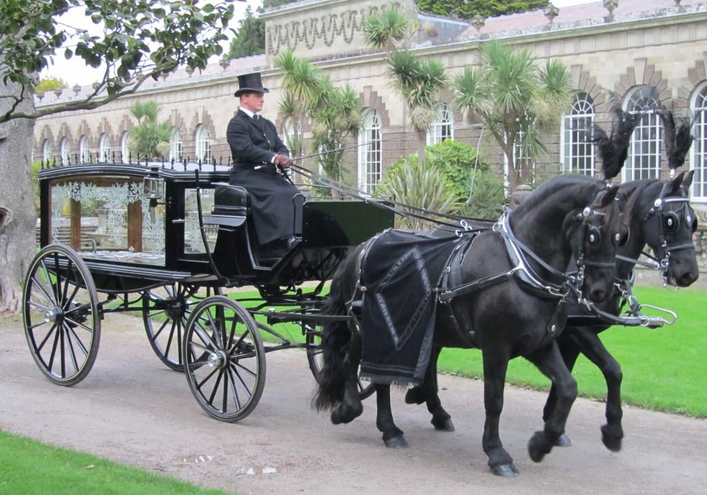 Funerals Cross Hands O G HARRIES HORSE CART