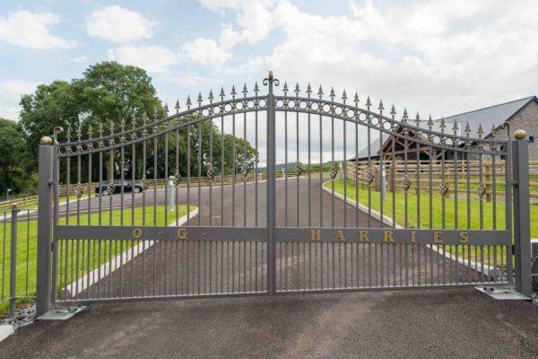 OG-Harries-Funeral-Directors-Carmarthen-Pontyberem-Chapel-of-Rest-Services-Carmarthenshire-Pontyberem -Llanelli Opening Gates